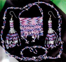 Beaded Amulet/Medicine Bag